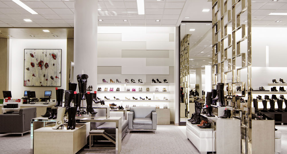 Macy39s oakbrook center women39s shoe department charles for Macy s herald square floor directory