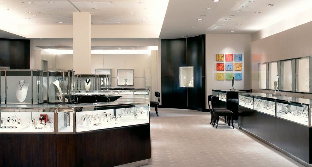 Neiman Marcus Fashion Island Level One Floor Plan Newport Beach California