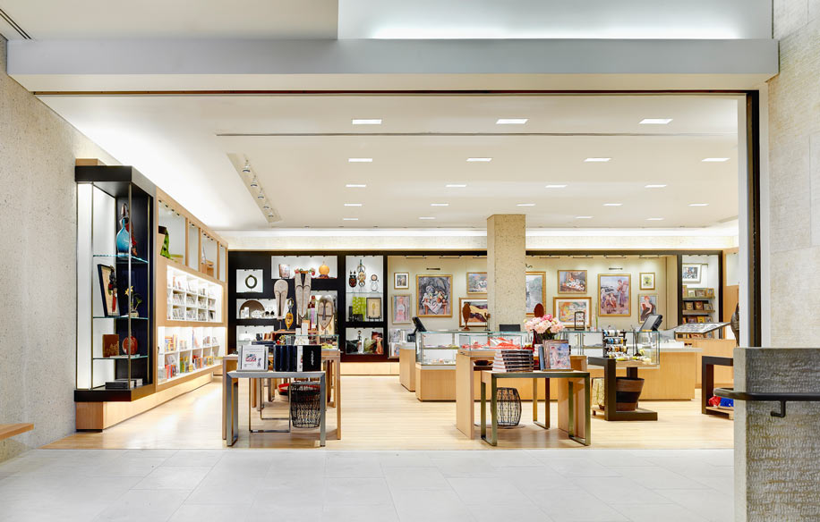 The Barnes Foundation Museum Shop Retail Design Charles Sparks